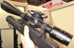 Riflescope Kahles K1050i FT 10-50x56