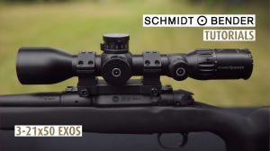 Schmidt und Bender Exos 3-21x50