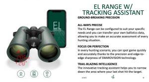 Swarovski EL RANGE 10x42 TA with rangefinger